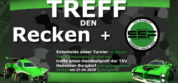 meet and play | triff Recke und ESportler der TSV Burgdorf